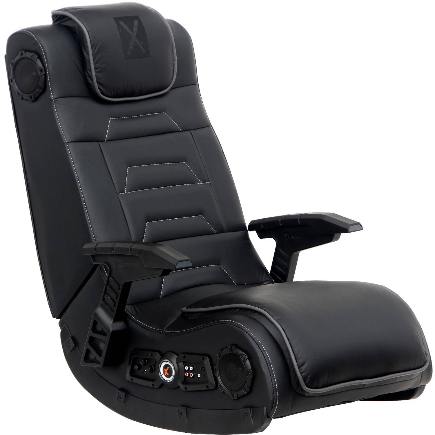 X Video Rocker Pro Series H3 4.1 Wireless Audio Gaming Chair, Black, 51259