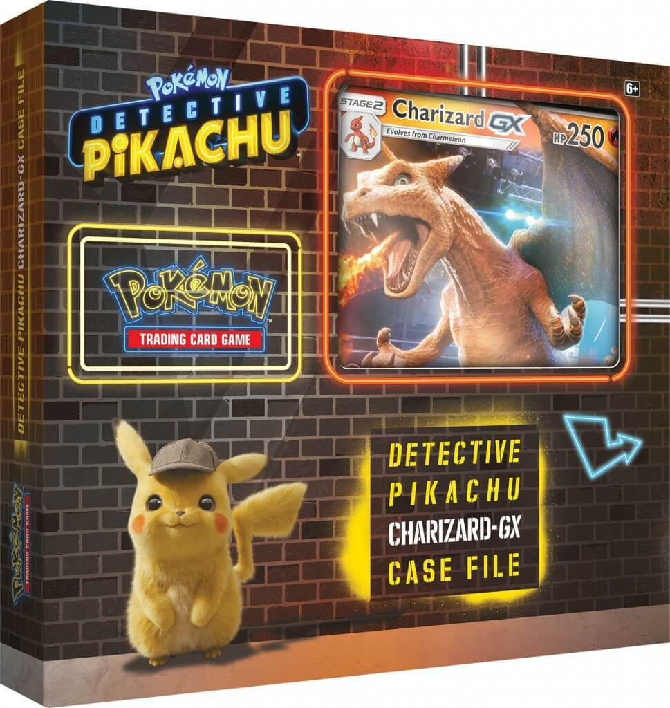 Detective Pikachu Pokemon Trading Cards- Charizard-Gx Case File + 6 Booster Pack + A Foil Promo Card + A Foil... by Pokemon