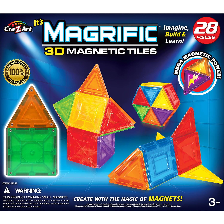 Cra-Z-Art Magrific 28-Piece Magnetic Set by