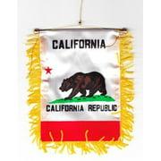 California - Window Hanging Flag