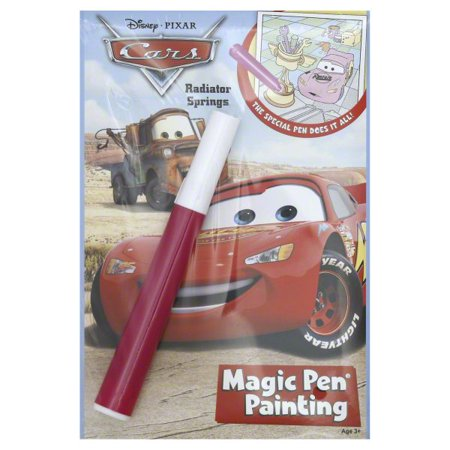 Magic Pen Disney Pixar Cars Radiator Springs Magic Pen Painting, 1