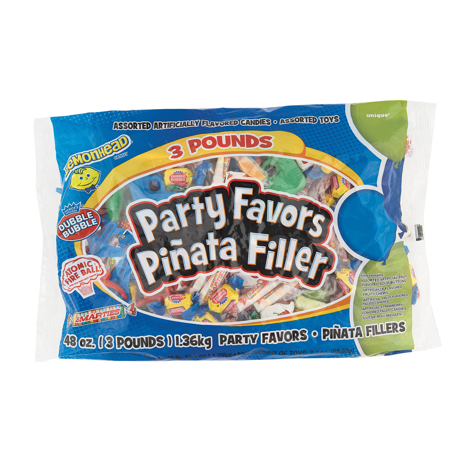 Boy Pinata Filler 3 Lb Bag