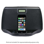 Refurbished Memorex MI3021BLK Compact Audio Speaker System For iPod w/3.5mm Aux Jack & Clock
