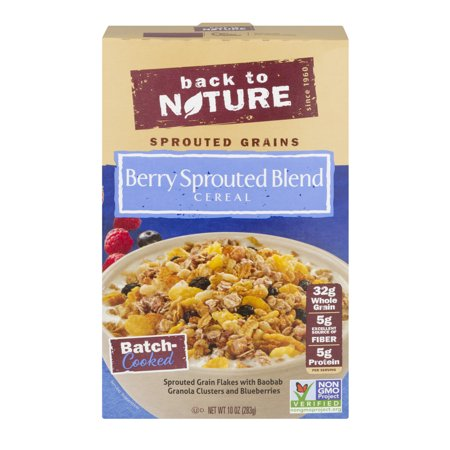 Back To Nature Berry Sprouted Blend Cereal, 10.0 OZ for $<!---->