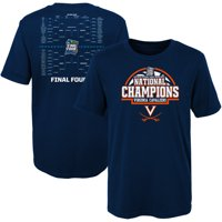Virginia Cavaliers Preschool 2019 NCAA Men's Basketball National Champions Bracket T-Shirt - Navy