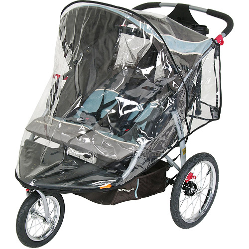 Baby Trend - Double Jogging Stroller Rainshield Cover