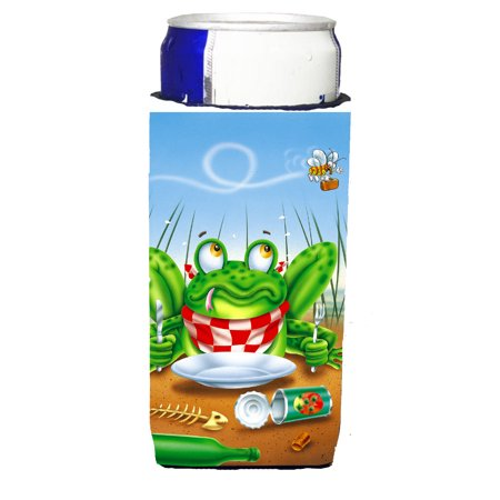 Frog Happy Plate Michelob Ultra beverage insulators for slim cans APH0520MUK