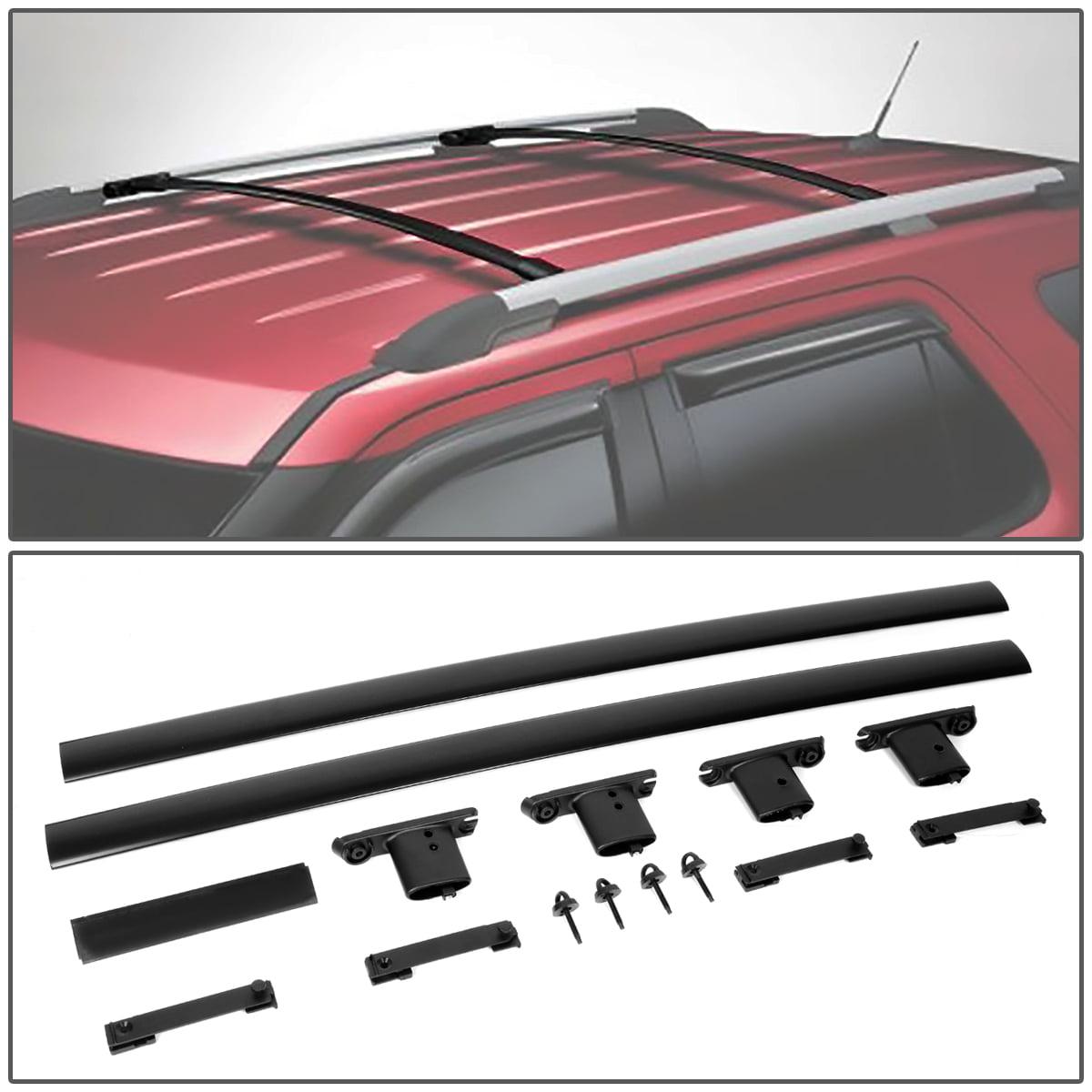 OE Fit Matte Black Roof Rack Luggage//Cargo Rail Crossbar Bar For 11-15 Explorer