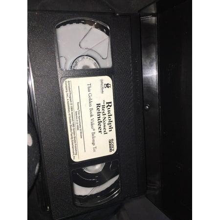 Rudolph The Red Nose Reindeer (VHS, 1992) Original Video Tape Movie Rankin Bass](Rankin Bass Halloween)