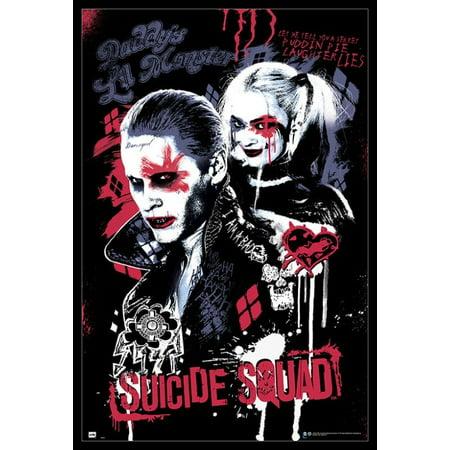 Suicide Squad Joker & Harley Quinn Poster Poster