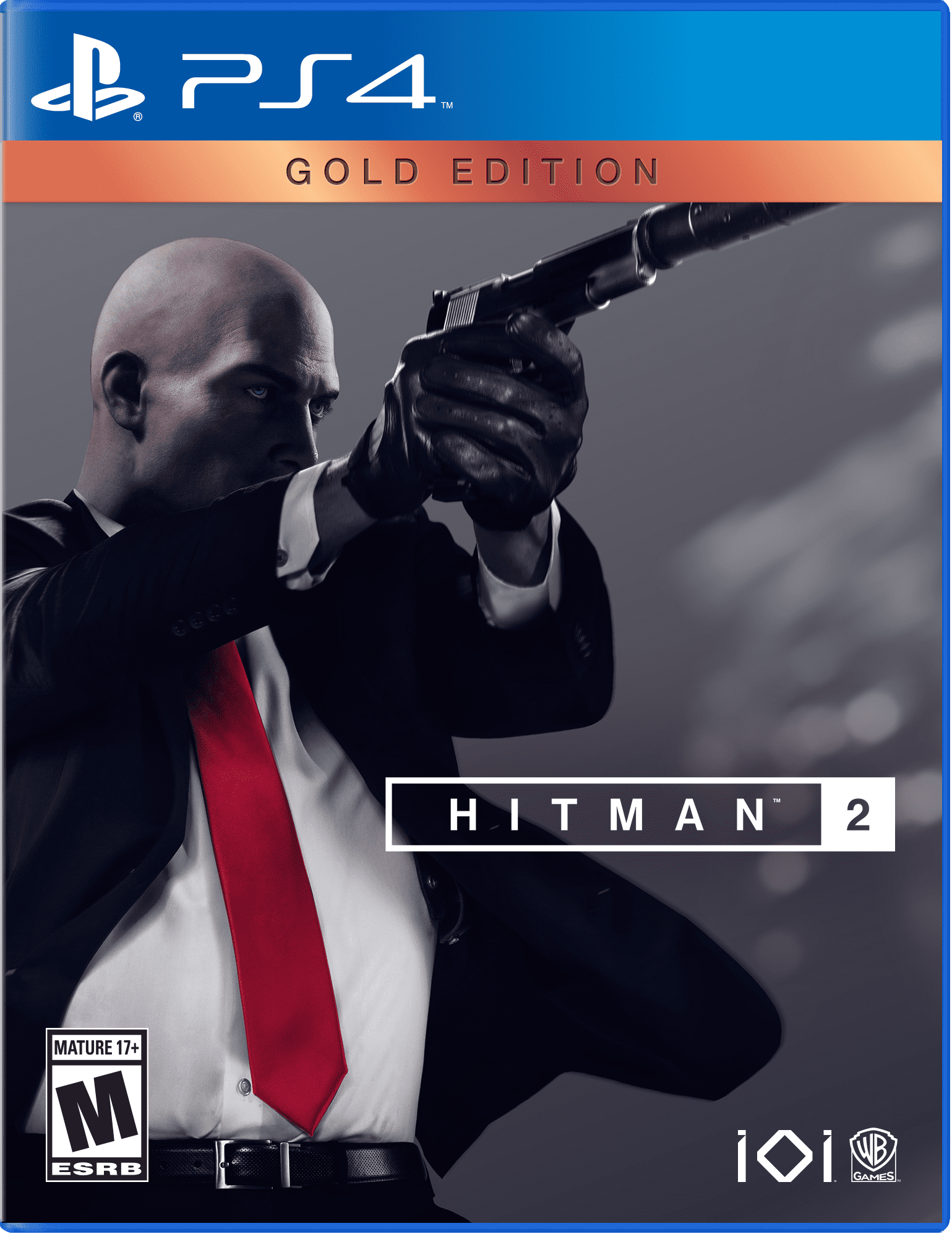 Hitman 2: Gold Edition, Warner Bros, PlayStation 4, 883929649495