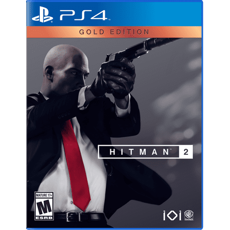 Hitman 2: Gold Edition, Warner Bros, PlayStation 4, 883929649495 - Two Bros