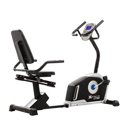 XTERRA Fitness SB150 Recumbent Bike with 24 Magnetic Resistance Levels