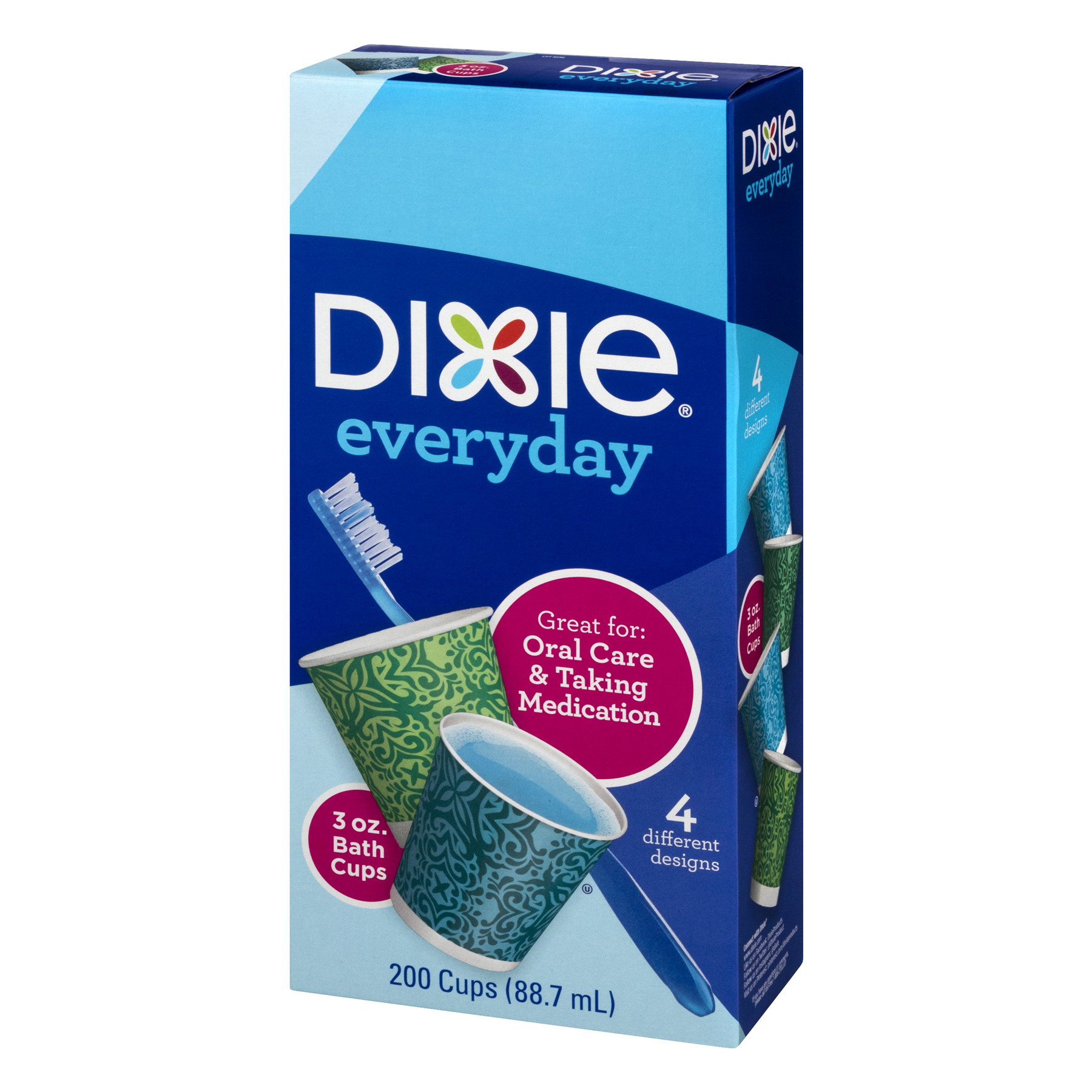 . Dixie Everyday Bath Cups  3 Oz  200 Ct   Walmart com