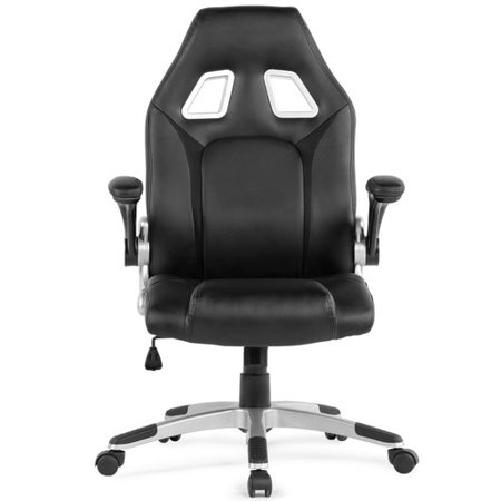 Surprising Orren Ellis Faux Leather High Back Gaming Chair Andrewgaddart Wooden Chair Designs For Living Room Andrewgaddartcom