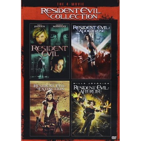 Resident Evil Collection (DVD)