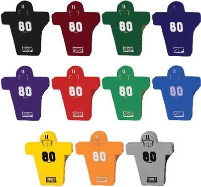 Fisher HD800 Man Shaped Football Blocking Shield, Black