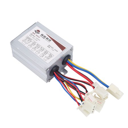 Dilwe 24V 500W Motor Brushed Controller Box for Electric Bicycle Scooter E-Bike, Electric Bike Brushed Controller, 24V Motor