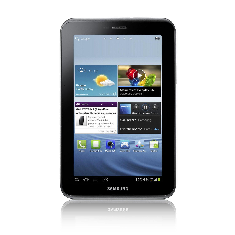 "Samsung Galaxy Tab 2 7"" 8GB Tablet - Titanium Silver"