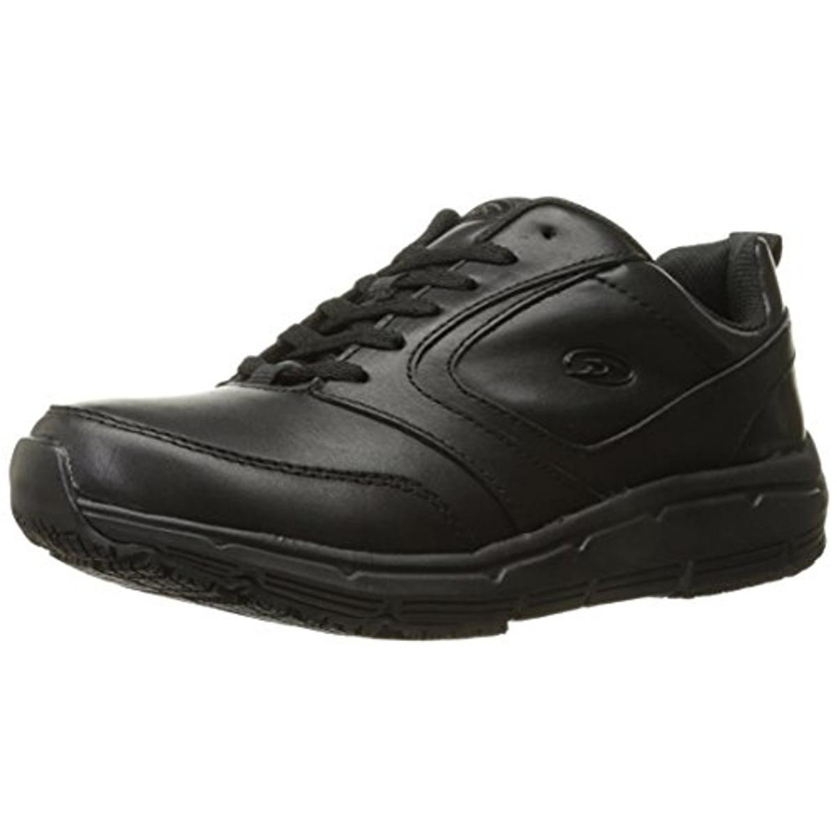 dr scholl s mens alpha leather slip resistant work shoes