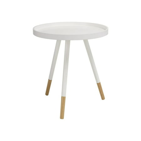 Innis Round Tray Side Table - White - image 1 de 1