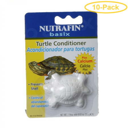 Nutrafin Basix Turtle Conditioner Block 15 Grams - Pack of 10