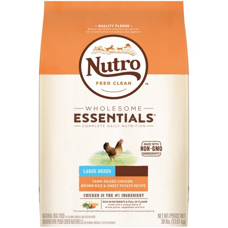Nutro wholesome essentials adult large breed dry dog food farm nutro wholesome essentials adult large breed dry dog food farm raised chicken brown rice forumfinder Choice Image