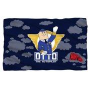 Airplane! 1980 Satirical Comedy Movie Otto The Autopilot Fleece Blanket