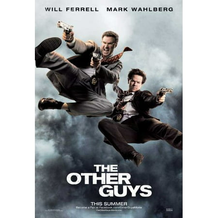 The Other Guys Poster Movie  11 X 17 Inches   28Cm X 44Cm  Mark Wahlberg Will Ferrell Samuel L  Jackson Michael Keaton Dwayne Johnson Lindsay Sloane  11 X 17 Inches      By Pop Culture Graphics Usa
