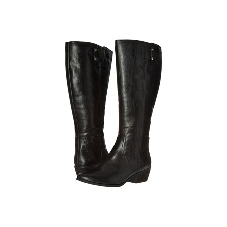 - Dr. Scholl's Womens Brilliance Wide Calf Round Toe Knee High Fashion Boots