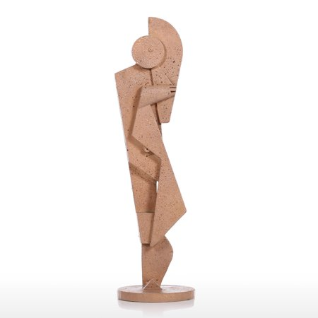 Tuba Player Creative Home Decoration Sandstone Texture Feeling Crafts Abstract Character Sculpture Living Room Furnishings - image 7 de 7
