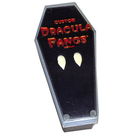 Vampire in Coffin Fangs Halloween Accessory - Diy Coffin Halloween