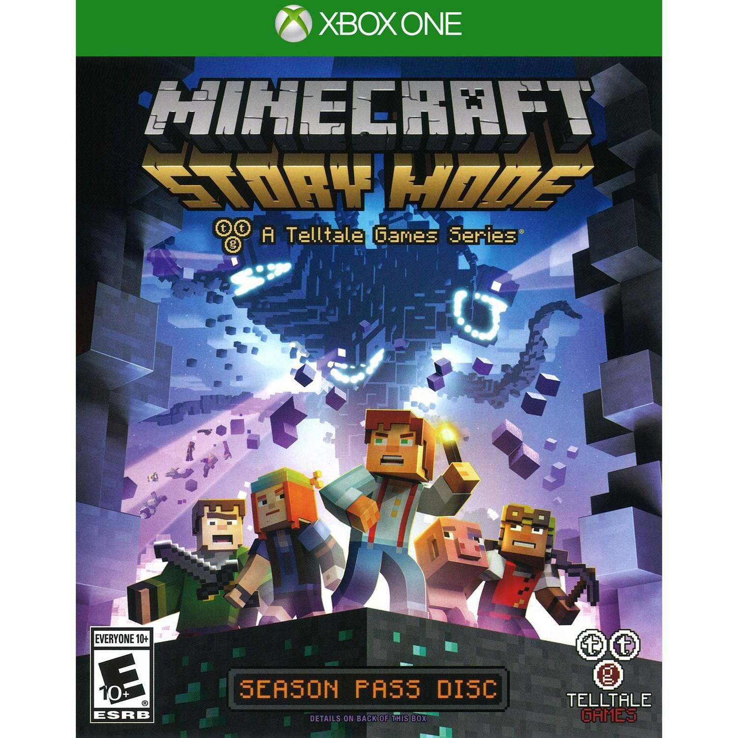 Minecraft: Story Mode Season Disc Xbox One by TELLTALE GAMES
