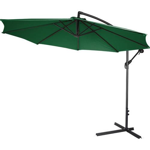 10 Deluxe Polyester Tan fset Patio Umbrella Walmart
