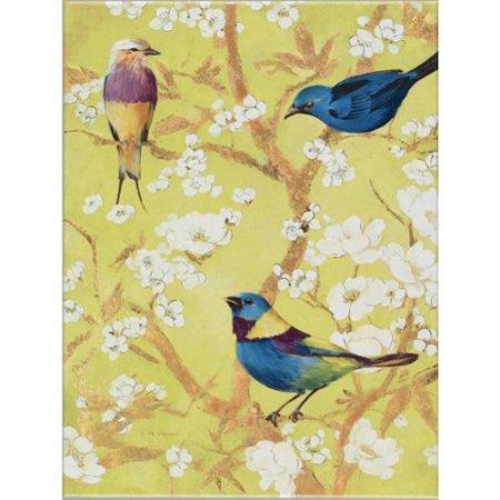 Antique Revival Fabrice de Villeneuve \'The Birds and The Flowers ...