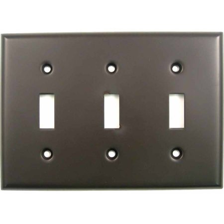 Rusticware 789 Triple Toggle Switch Plate