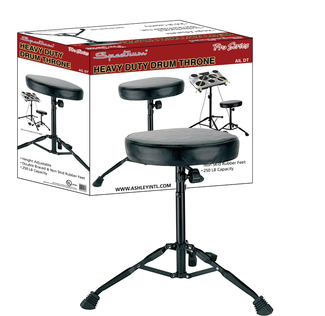 NEW Spectrum AIL DT Heavy Duty Drum Throne 250 Pound Capacity FREE SHIPPING