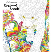 Paradise of Animals : Adult Coloring Book (Paperback)