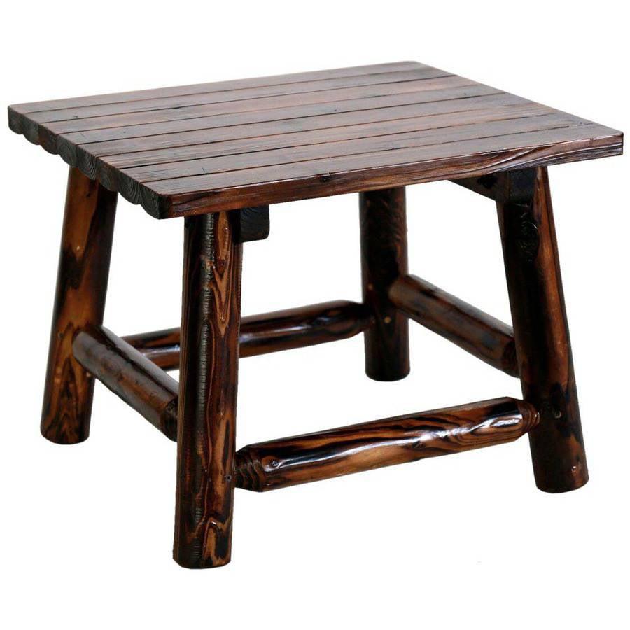 Leigh Country Char-Log Rectangular End Table