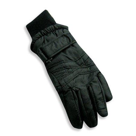 Winter Warm-Up - Ladies Ski Gloves Black / Medium (Pink Fishnet Glove)