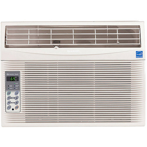 Sharp AFS125RX High Efficiency 12,000-BTU Room Window Air Conditioner