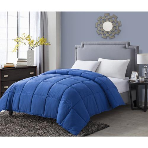 VCNY Paradise Reversible Down Alternative Comforter Full/Queen - Blue/Navy