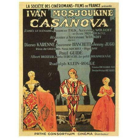 Casanova - movie POSTER (Style B) (11