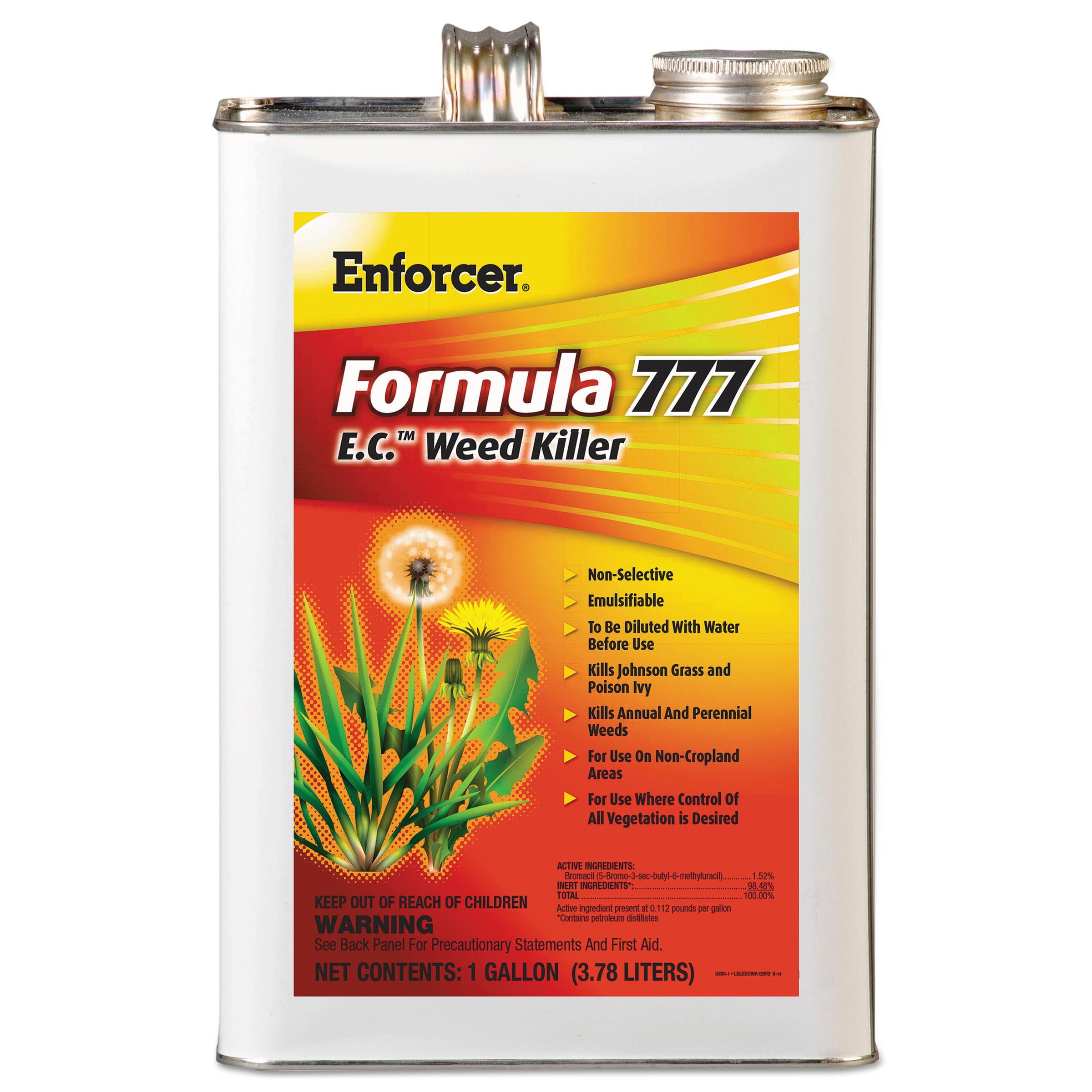 Waterbury Companies 1048550 Formula 777 E.c. Weed Killer, Non-cropland, 1 Gal Can, 4/carton