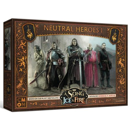 CMON A Song of Ice & Fire: Tabletop Miniatures Game - Neutral Heroes #1](Baby Hero Games)
