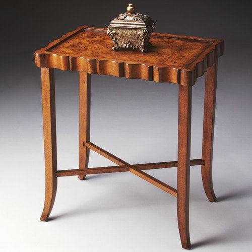Butler Tea Table - Olive-ash Burl