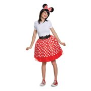 Minnie Mouse Womens' Red Minnie Adult Tutu Costume