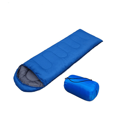 Elegantoss Comfortable Lightweight Portable Sleeping Bag Weather Waterproof Windproof Envelope Sleeping Bag Camping Gear for Outdoor Hiking, Survival and Traveling (Blue) ()