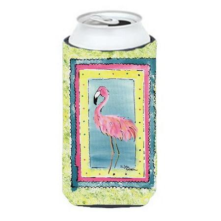 Carolines Treasures 8107Tbc Bird   Flamingo Tall Boy   Hugger