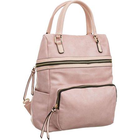 Laurel   Sunset 5 Pocket Sak Large Backpack Convt  Tote Bag With Crossbody Strap